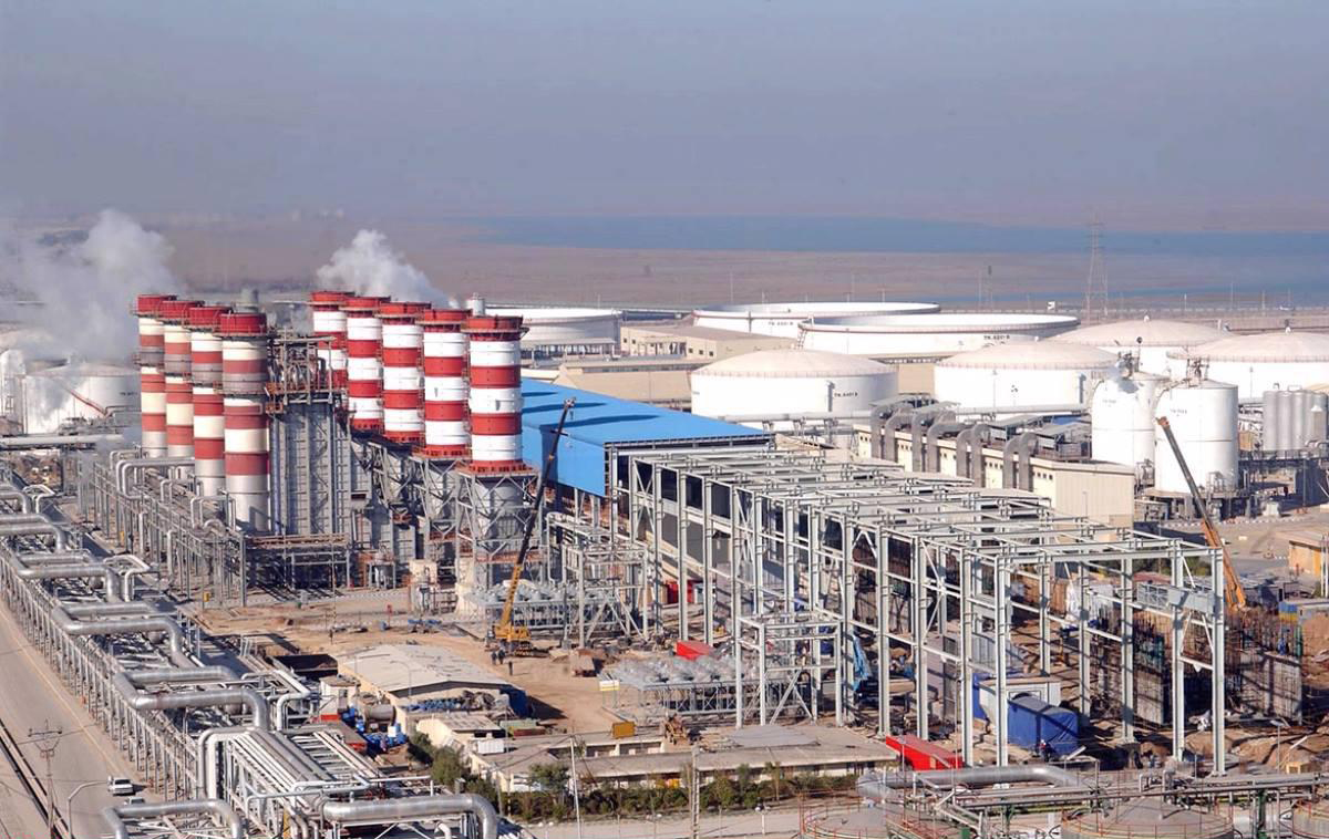 مشارکت پتروشیمی های مبین و فجر در تولید برق کشور